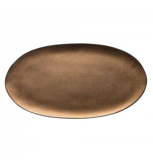 VERLO ETER Talerz / półmis 43 x 22,5 cm / postarzana miedź