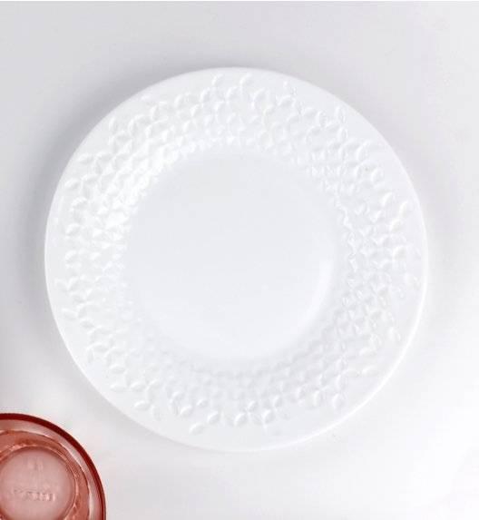 WYPRZEDAŻ! DOMINO FLORANE FL 6x talerz deserowy 12 cm / Szkło hartowane