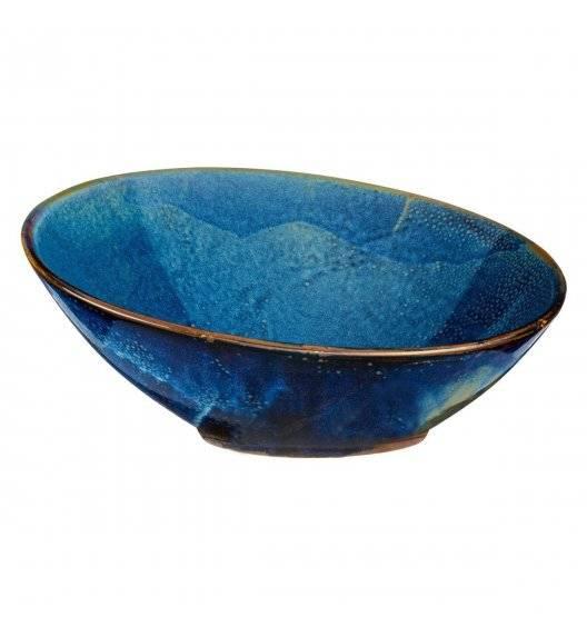 VERLO DEEP BLUE Misa / salaterka skośna 30,5 cm / porcelana