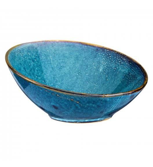 VERLO DEEP BLUE Misa / salaterka skośna 25 cm / porcelana