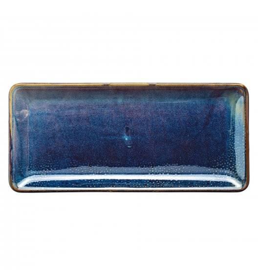 VERLO DEEP BLUE Półmis / półmisek 30,5 x 14 cm / porcelana