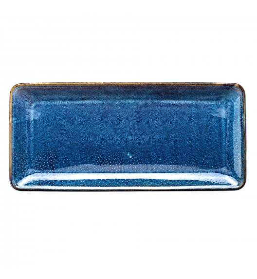 VERLO DEEP BLUE Półmis / półmisek 35,5 x 16,5 cm / porcelana