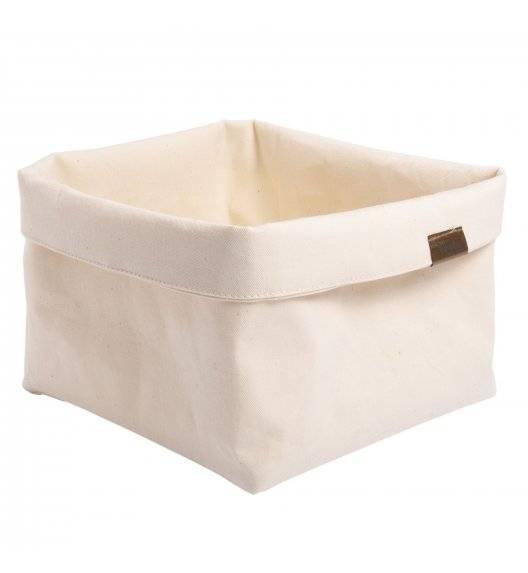 VERLO Koszyk / torba na pieczywo 19,5 x 19,5 cm / ecru
