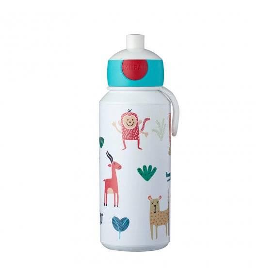 MEPAL CAMPUS Bidon / butelka dla dzieci pop-up 400 ml / Animal Friends
