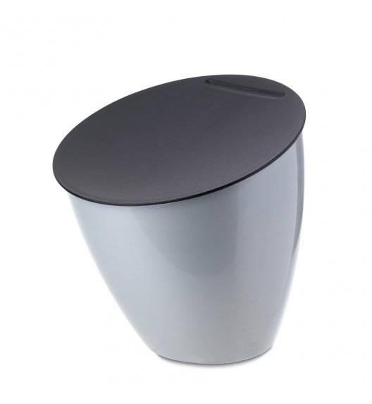 MEPAL CALYPSO Kosz na odpady 2,2 l / srebrny