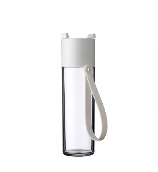 MEPAL JUSTWATER Butelka na wodę 500 ml / biała