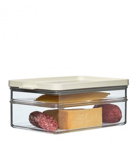 MEPAL OMNIA Pojemnik na żywność 500 + 1200 ml / 2 poziomy / white