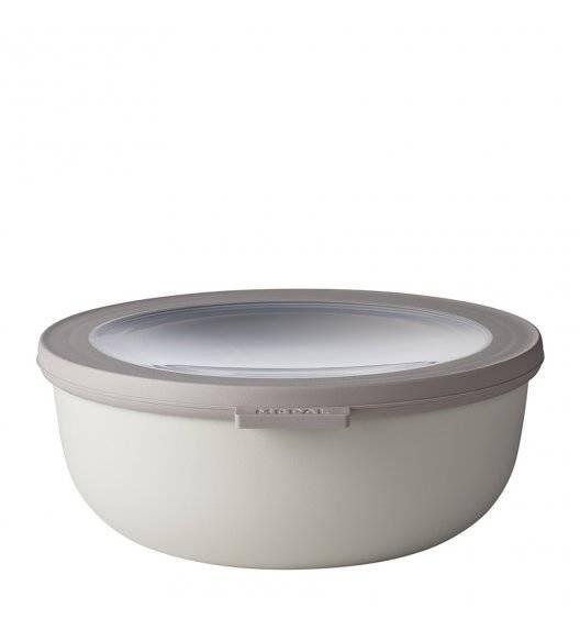 MEPAL CIRQULA Miska z wieczkiem 1,25 l / noridic white