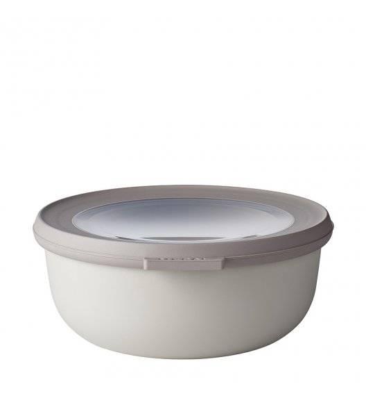 MEPAL CIRQULA Miska z wieczkiem 750 ml / noridic white