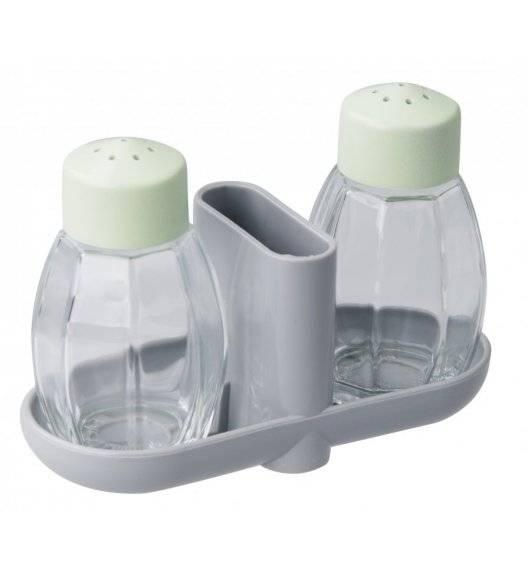 FACKELMANN ECOLUTION Zestaw solniczka i pieprzniczka 45 ml  / tworzywo sztuczne