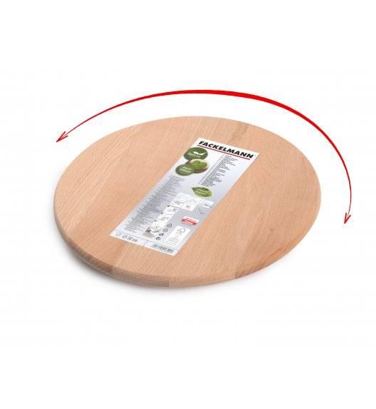 FACKELMANN NATURE Deska obrotowa Ø30 cm / drewno sosnowe