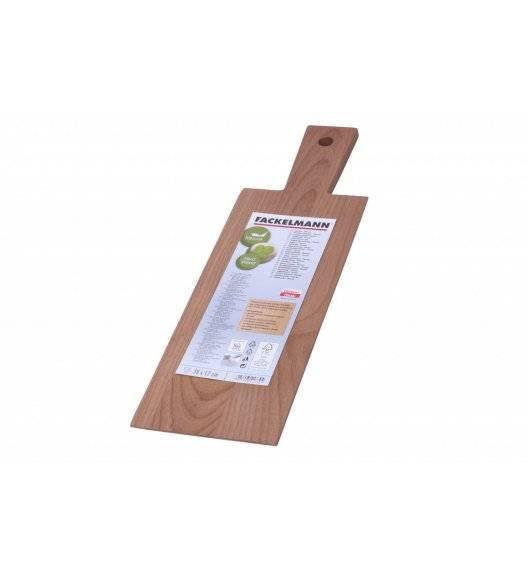 FACKELMANN NATURE Deska do krojenia 39 x 12 cm / drewno bukowe
