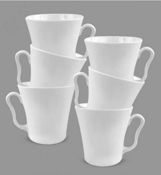 KRISTOFF LENI Komplet 6 kubków 350 ml / 6 osób / porcelana