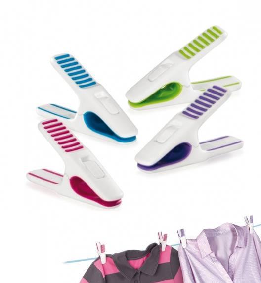 TESCOMA CLEAN KIT Kolorowe klamerki do prania / 20 sztuk