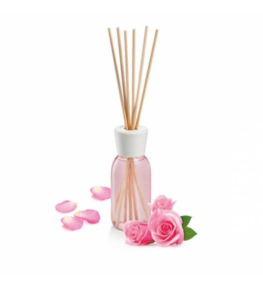 TESCOMA FANCY HOME Odświeżacz powietrza z patyczkami 120 ml / Różowe kwiaty