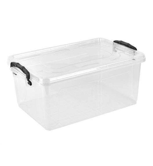 TADAR Transparentny pojemnik do przechowywania 37 x 24 x 15,5 cm