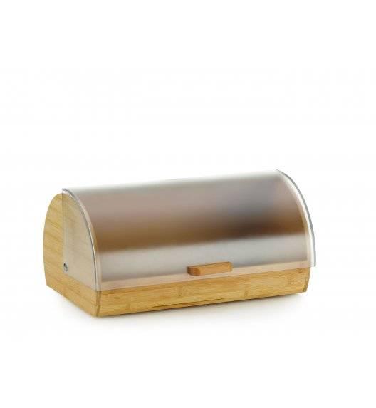 WYPRZEDAŻ! KELA KATANA Drewniany chlebak z plastikową pokrywą 39 x 25 x 19 cm