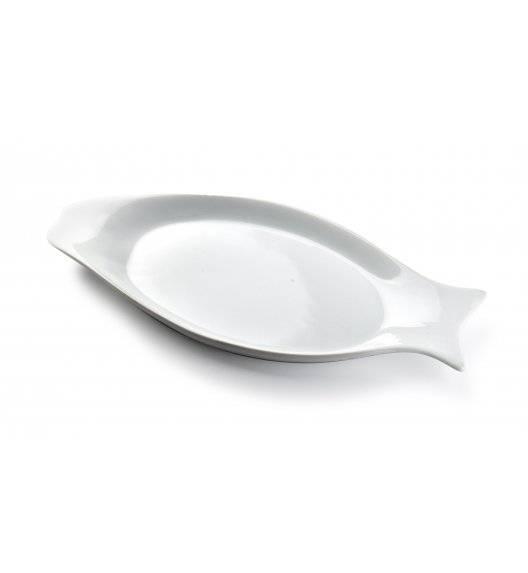 WYPRZEDAŻ! COOKINI BASIC Półmis / półmisek 31,5 x 14 cm w kształcie ryby / porcelana