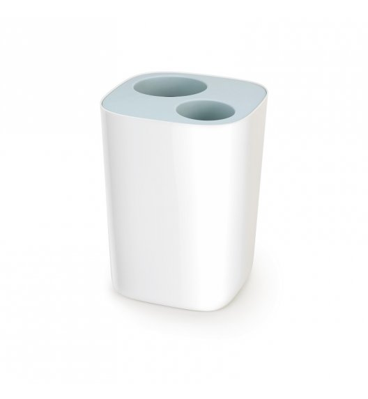 WYPRZEDAŻ! JOSEPH JOSEPH SPLIT Kosz łazienkowy do segregacji odpadów 8 L / błękitny / tworzywo sztuczne