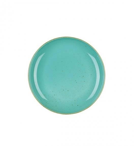 LUBIANA RONDO K5 Talerz deserowy 22 cm / morski / porcelana