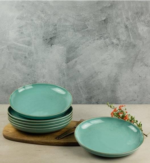 LUBIANA RONDO K5 12 x talerz obiadowy 27 cm / morski / porcelana