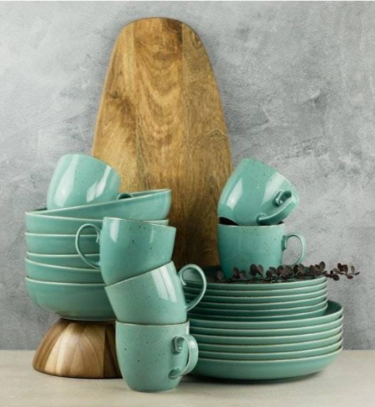 LUBIANA RONDO K5 Serwis obiadowy 96 el dla 24 os / morski / porcelana