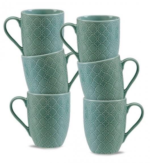 LUBIANA MARRAKESZ K5 6 x Kubek 350 ml / morski / porcelana