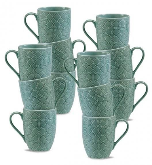LUBIANA MARRAKESZ K5 12 x Kubek 350 ml / morski / porcelana