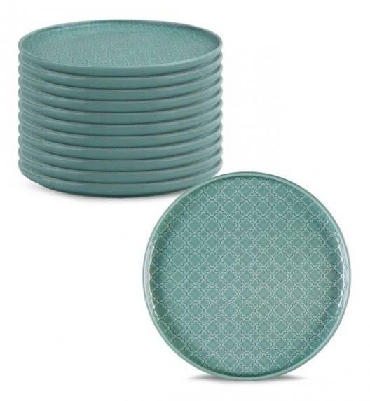 LUBIANA MARRAKESZ K5 12 x talerz deserowy 20 cm / morski / porcelana
