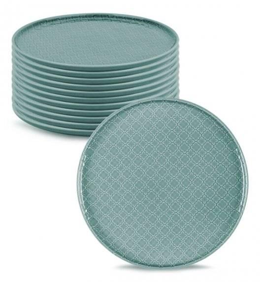 LUBIANA MARRAKESZ K5 12 x talerz obiadowy 26 cm / morski /porcelana