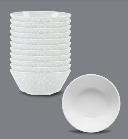 LUBIANA MARRAKESZ Komplet 12 x salaterka 15 cm / biały / porcelana