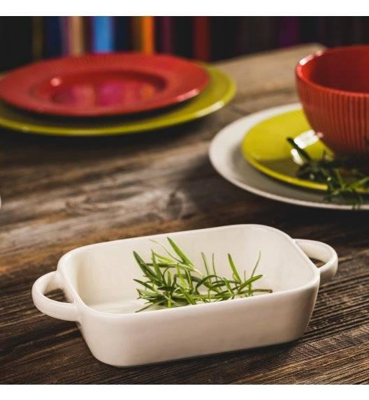 AMBITION FIESTA Naczynie ceramiczne do serwowania dań / kremowe