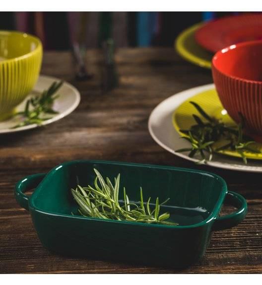 AMBITION FIESTA Naczynie ceramiczne do serwowania dań / szmaragdowe