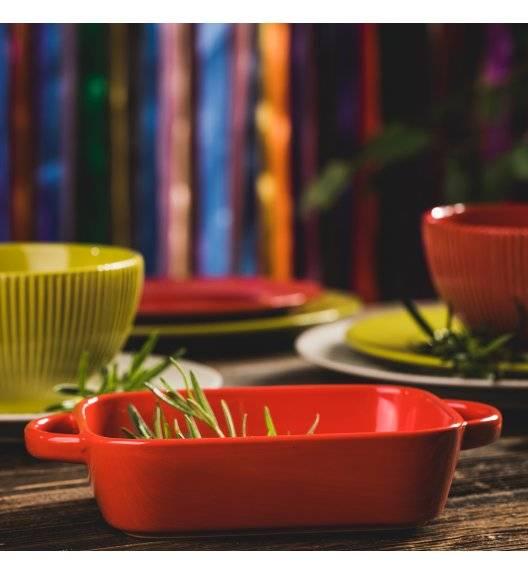 AMBITION FIESTA Naczynie ceramiczne do serwowania dań / czerwone