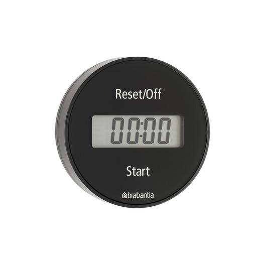 BRABANTIA Minutnik magnetyczny LCD / dark grey