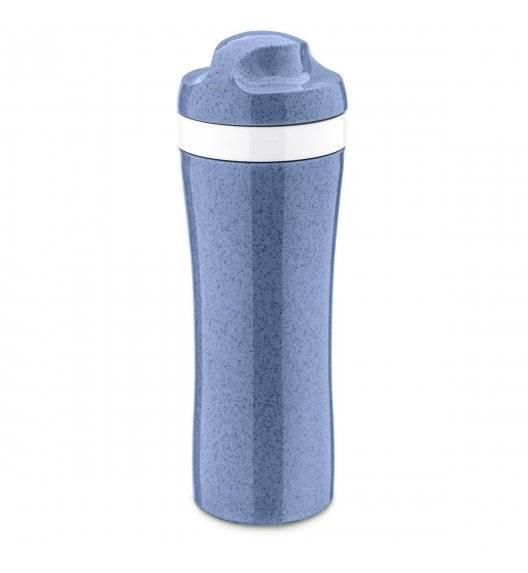 KOZIOL OASE Butelka na zimne napoje 425 ml / niebieska