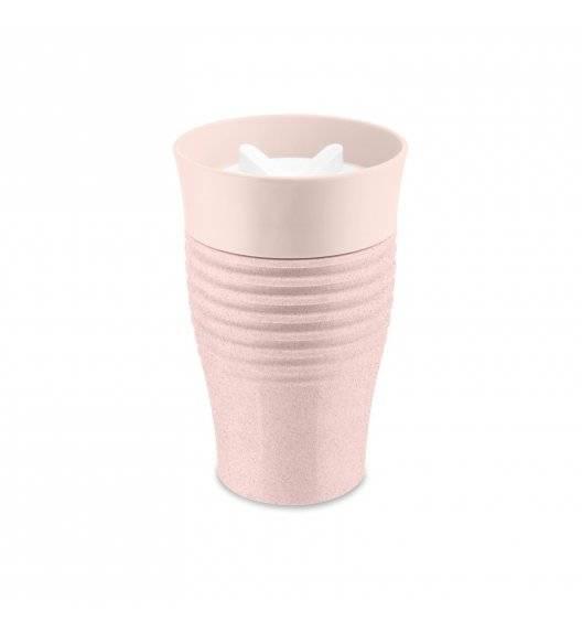 KOZIOL Kubek termiczny 400 ml / różowy