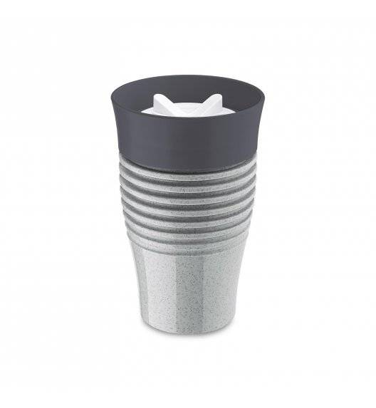 KOZIOL Kubek termiczny 400 ml / szary