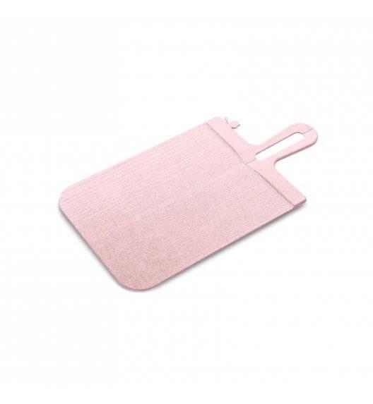 KOZIOL SNAP Deska składana 33 x 16 cm / różowa / tworzywo sztuczne