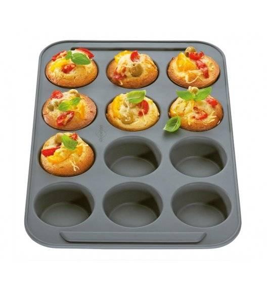 KUCHENPROFI BAKE VARIO Silikonowa forma na 12 babeczek / muffinek