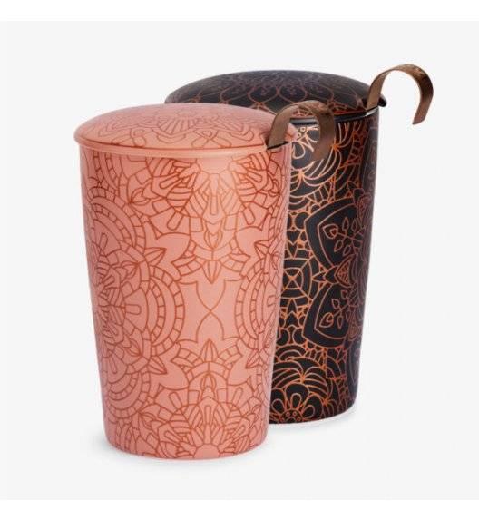 EIGENART MANDALA POWDER Kubek z zaparzaczem 350 ml / porcelana