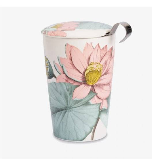 EIGENART PADMA Kubek z zaparzaczem 350 ml / porcelana