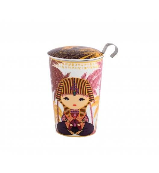 EIGENART LITTLE EGYPT Kubek z zaparzaczem 350 ml / porcelana