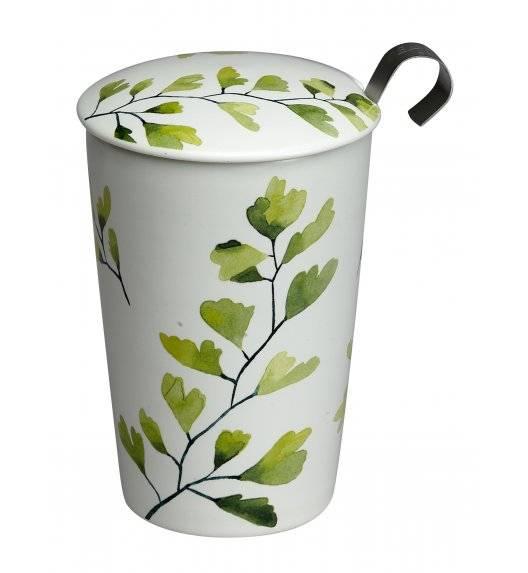 EIGENART TREES Kubek z zaparzaczem 350 ml / porcelana