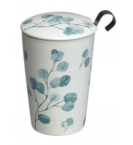 EIGENART EUCALYPTUS Kubek z zaparzaczem 350 ml / porcelana