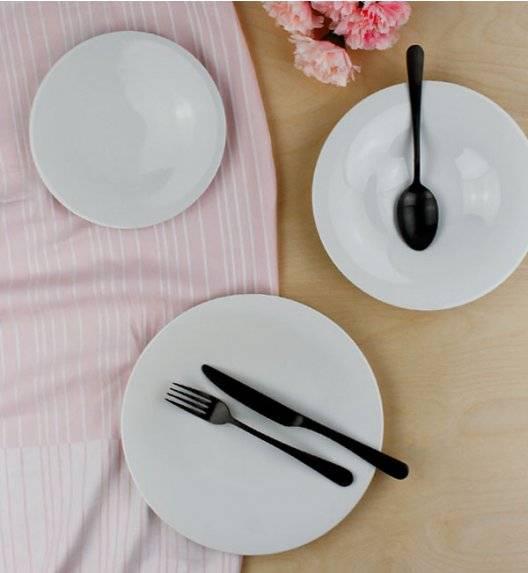 DOMINO A-E Serwis obiadowy 54 elementy / 18 osób / porcelana