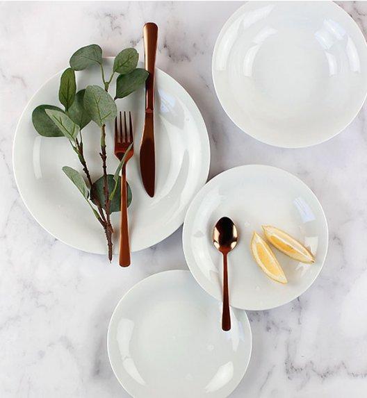 PROMOCJA! LUBIANA VENERE Serwis obiadowy 18 elementów / 6 osób / porcelana