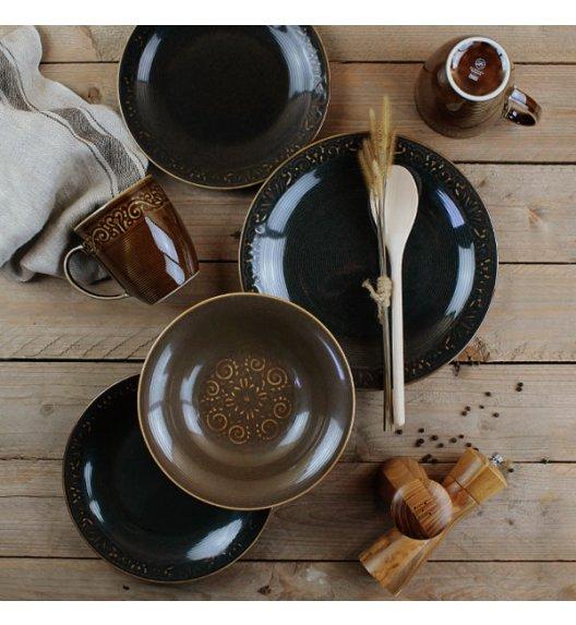 LUBIANA ELISE Serwis obiadowy 24 el dla 6 os / porcelana