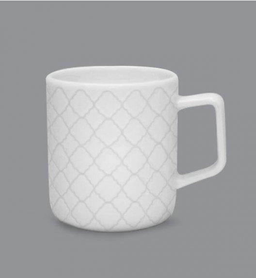 LUBIANA MARRAKESZ  Kubek 400 ml / biały / porcelana