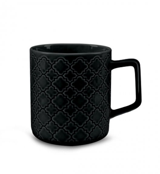 LUBIANA MARRAKESZ K8 Kubek 400 ml / czarny / porcelana